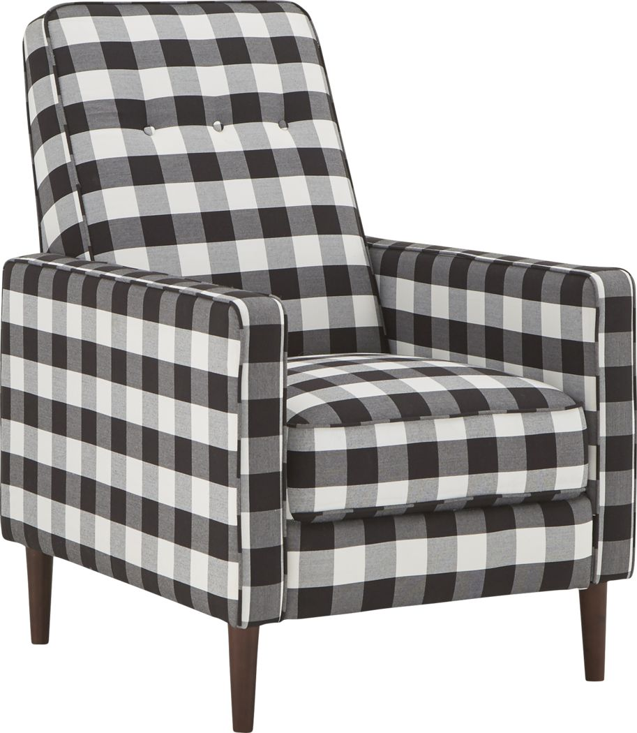 Grenger Black Accent Chair