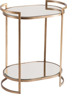 Grenoble Gold Bar Cart