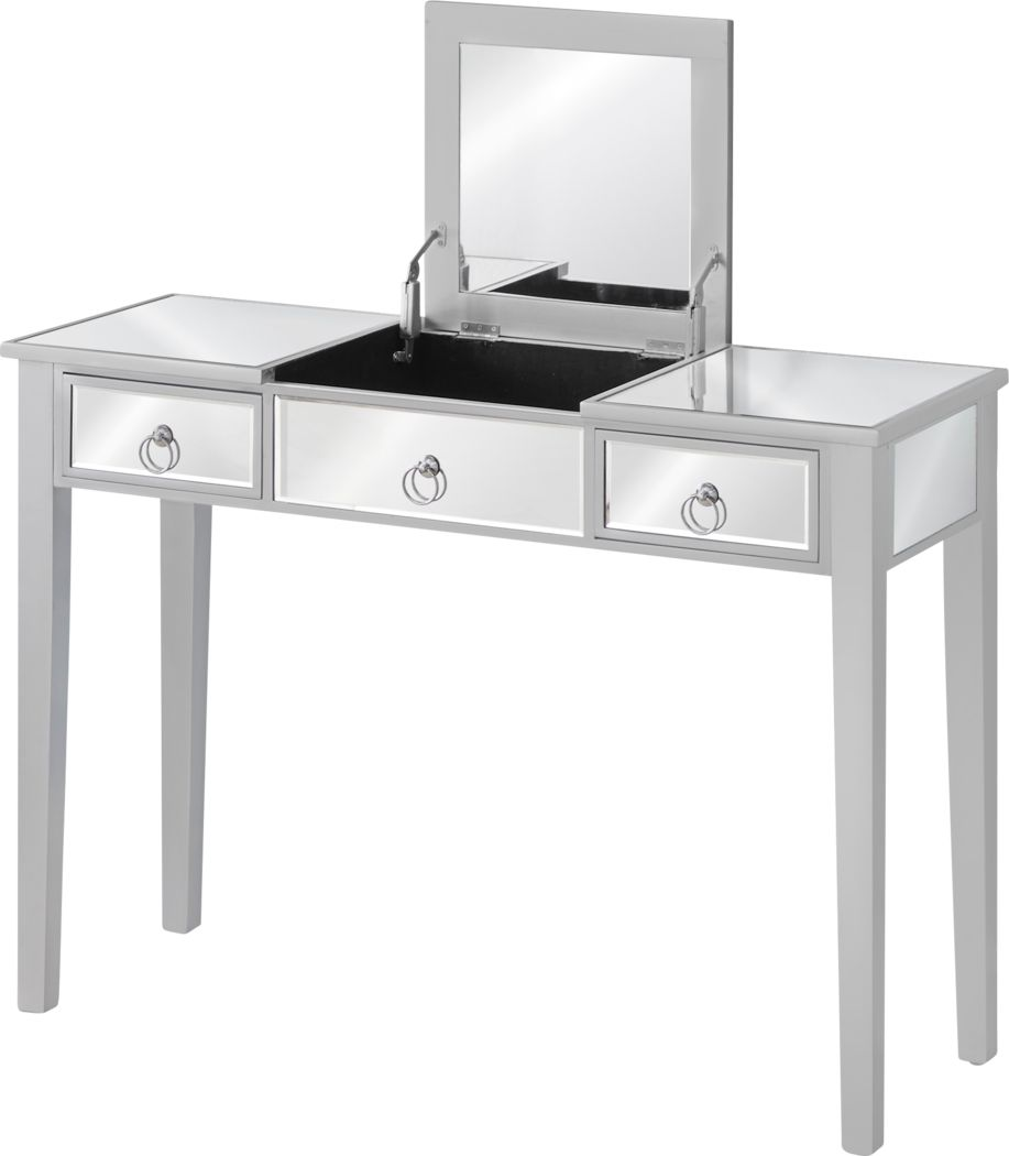Gwenellen Silver Vanity Table