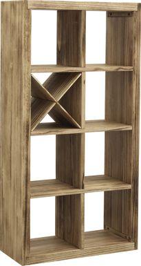 Gwinnstone Brown Bookcase