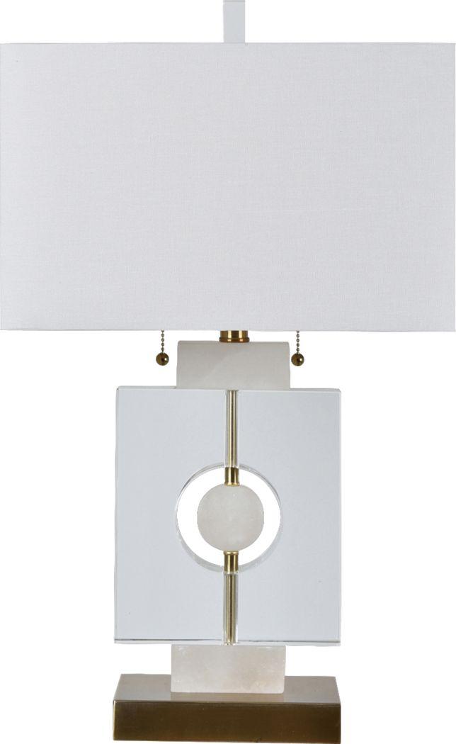 Hailes White Lamp
