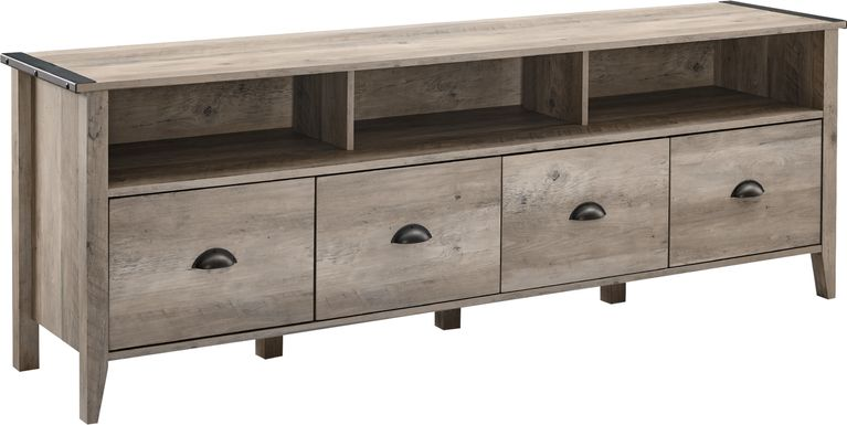 Haleyford Gray 70 in. Console