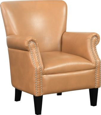 Halgo Brown Accent Chair