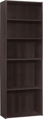 Hallbrook Cappuccino Bookcase