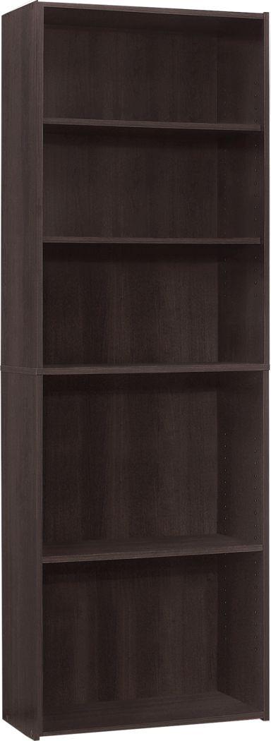 Hallbrook Cappuccino Bookcase