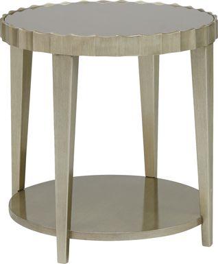 Hallwood Silver End Table