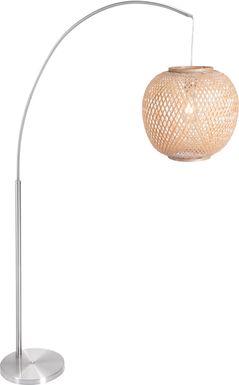 Haltington Natural Floor Lamp
