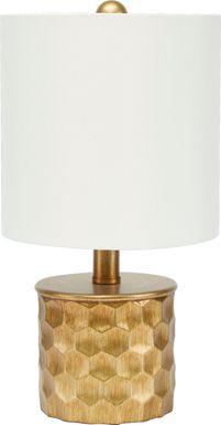 Halton Gold Table Lamp