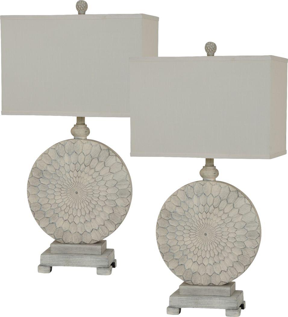 Hammond Rowe Beige Lamp, Set of 2