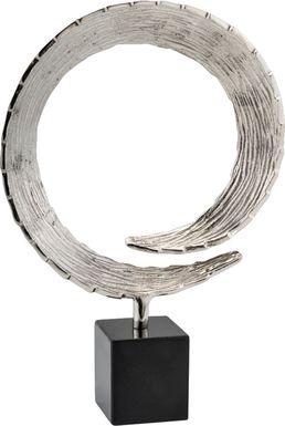 Hanady Silver Large Sculpture