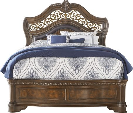 Handly Manor Pecan 3 Pc Queen Bed