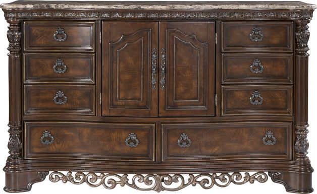 Handly Manor Pecan Dresser