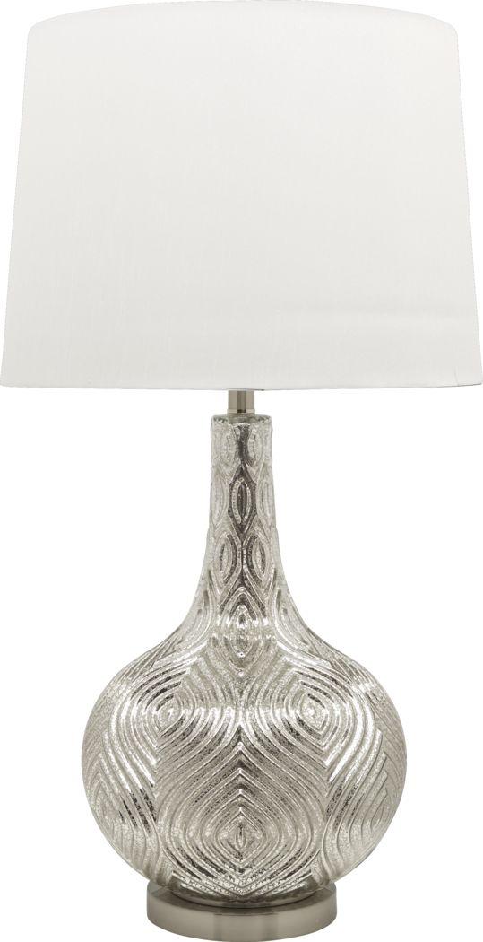 Hanish Silver Lamp
