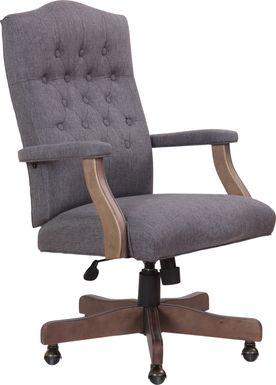 Hanksville Gray Desk Chair