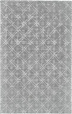 Hapi Gray 5' x 8' Rug