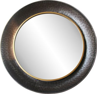 Hardwrick Gray Mirror