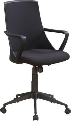 Harelson Black Desk Chair
