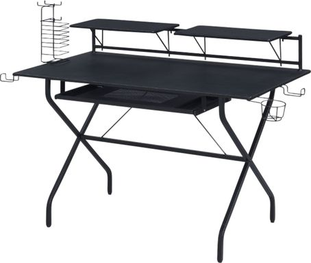 Harimoney Black Computer Desk
