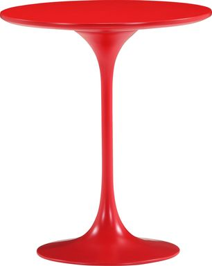 Harlow Ridge Red Accent Table