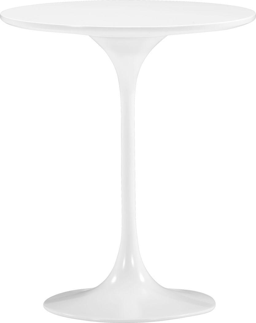 Harlow Ridge White Accent Table