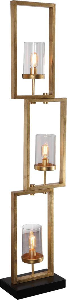 Harmont Gold Floor Lamp