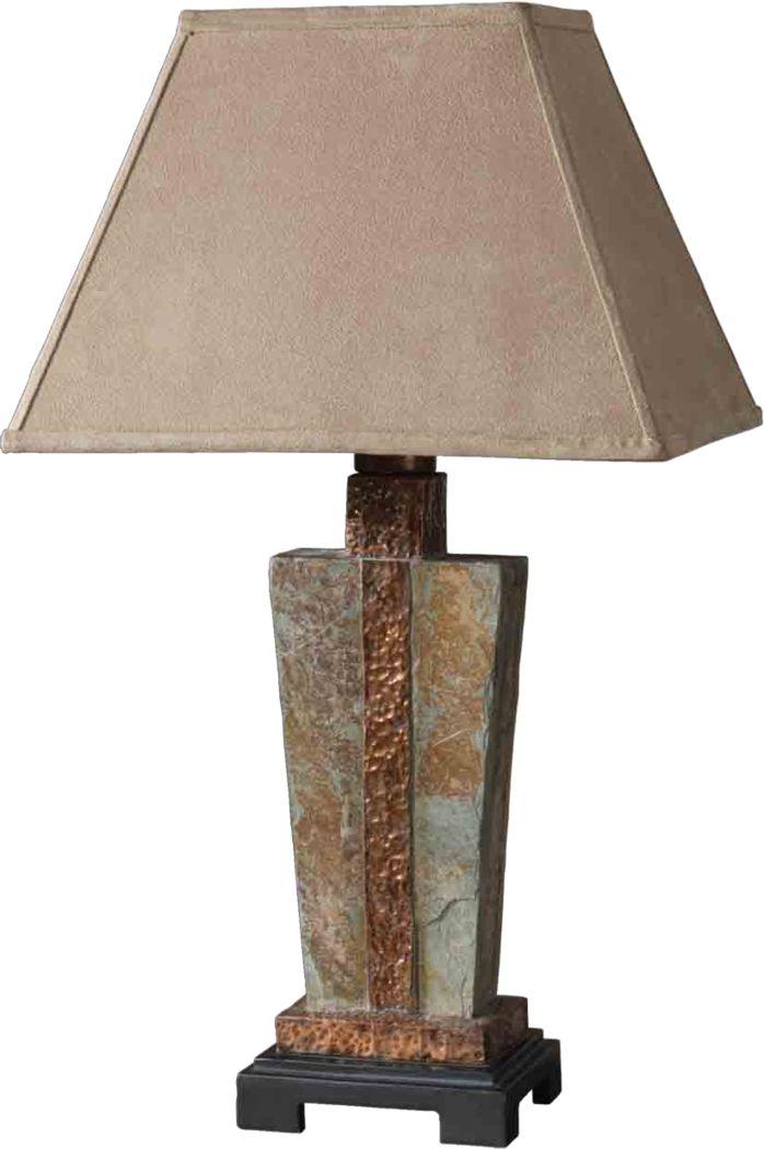 Harmony Drive Slate Lamp