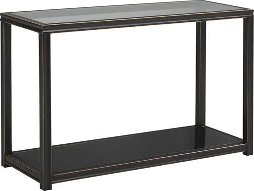 Harperdale Black Sofa Table