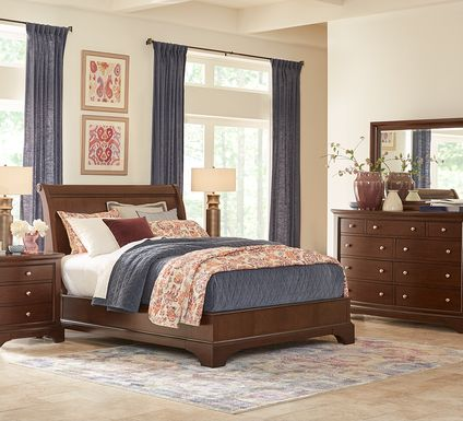 Harrington Place Cherry 5 Pc King Bedroom