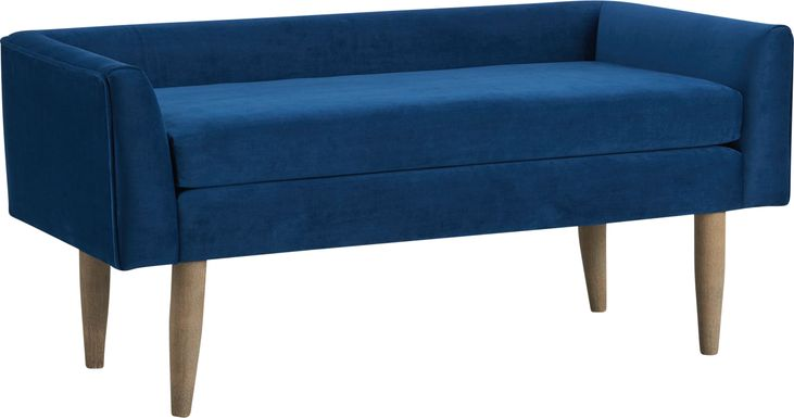Harrowdale Blue Accent Bench