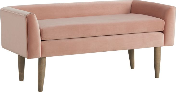 Harrowdale Blush Accent Bench