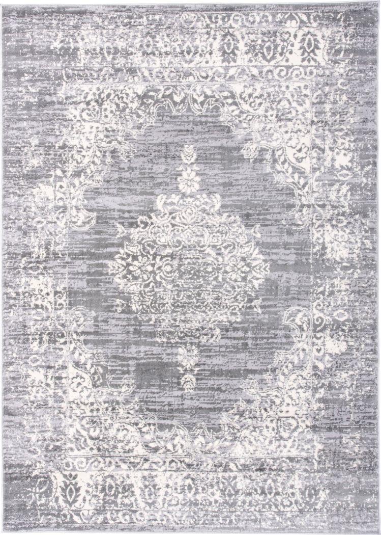 Harveer Gray 3' x 5'  Rug