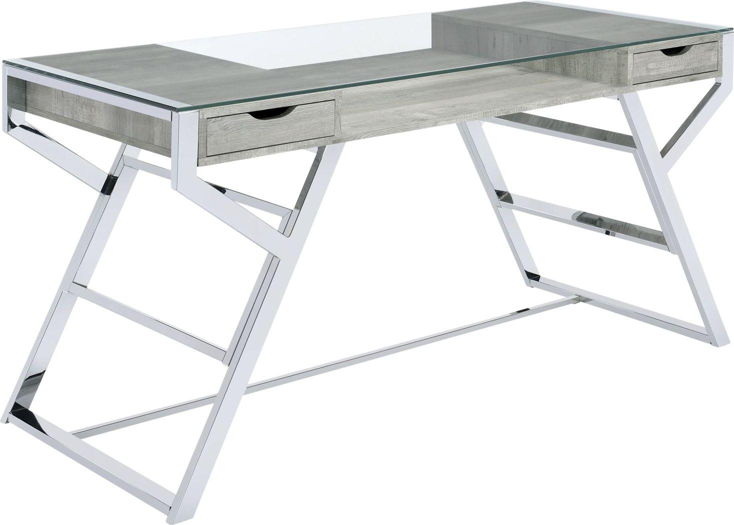 Hattaway Gray Desk