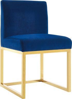 Haute Navy Accent Chair