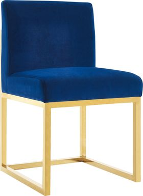 Haute Navy Accent Chair