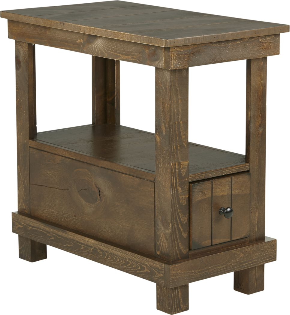 Havenwood Brown Chairside Table
