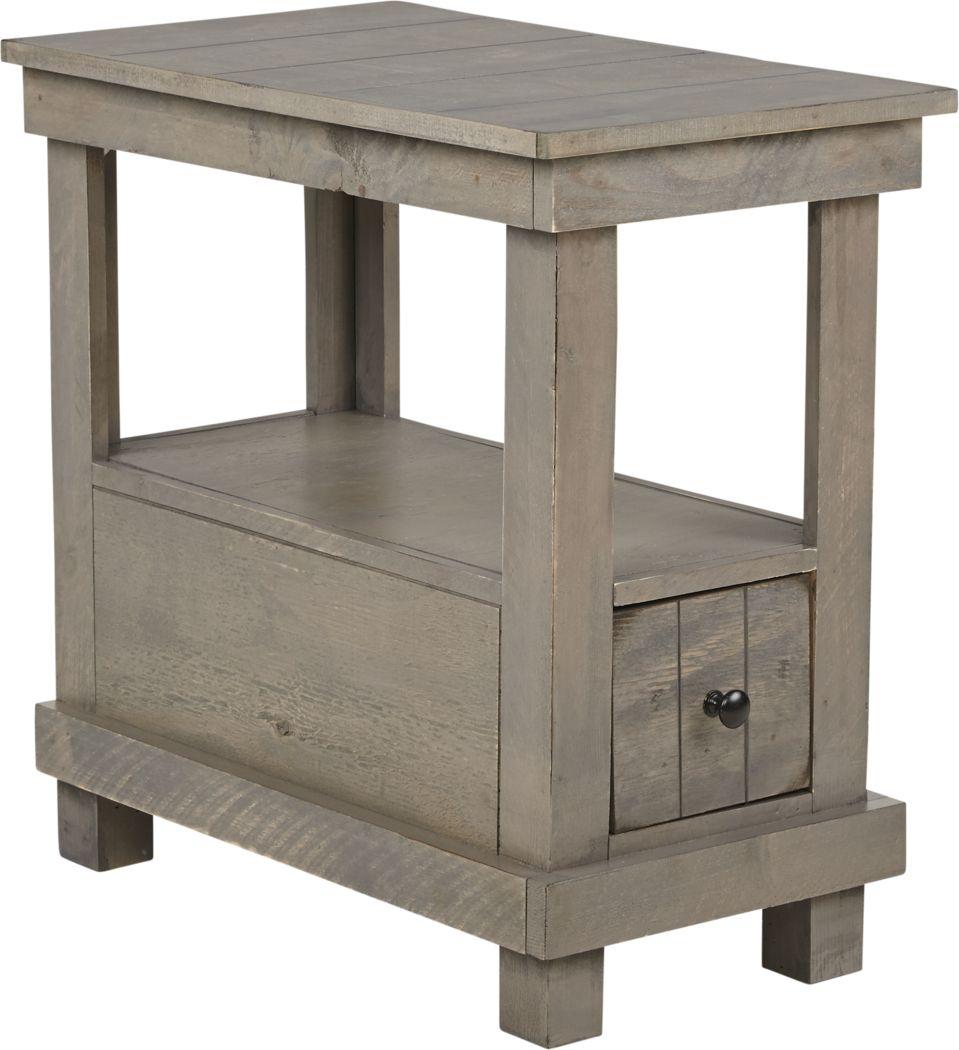 Havenwood Gray Chairside Table