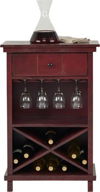 Havenwood Red Wine Cabinet
