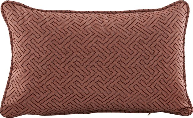 Havermont Pomegranate Indoor/Outdoor Accent Pillow