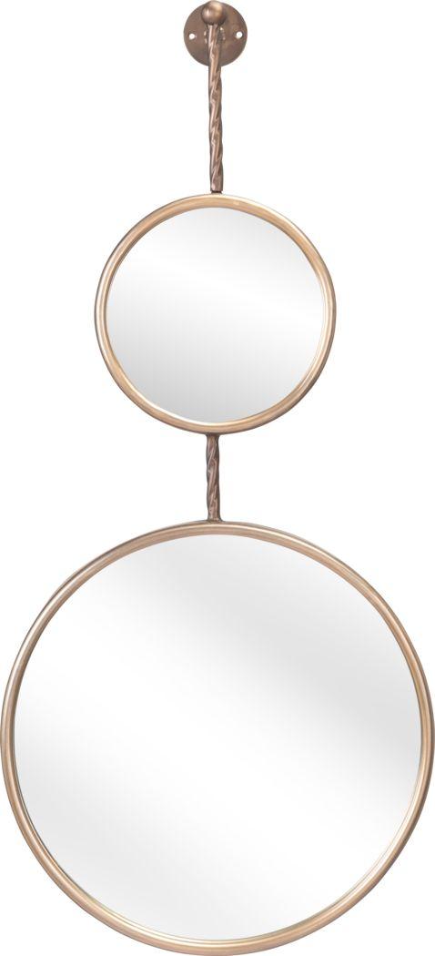 Hawkley Gold Mirror