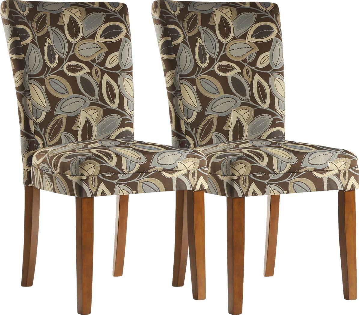 Hawksview Brown Side Chair (Set of 2)