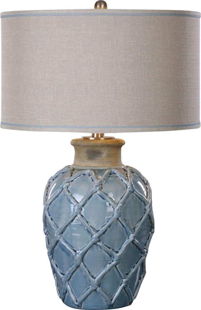 Haystack Court Blue Lamp