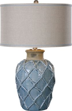 Haystack Court Blue Lamp