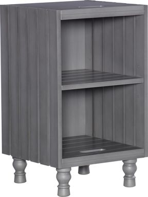 Hazelle Gray Accent Table
