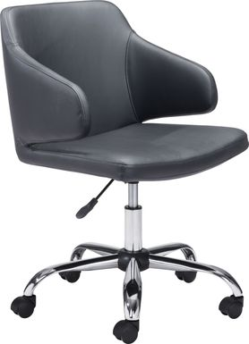Heckney Black Office Chair
