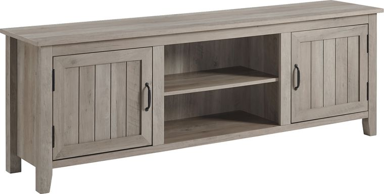 Hefley Gray 70 in. Console