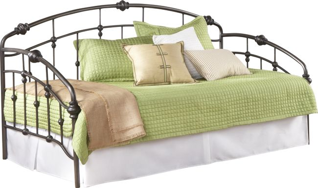 Heirloom Park Pewter Daybed with Trundle