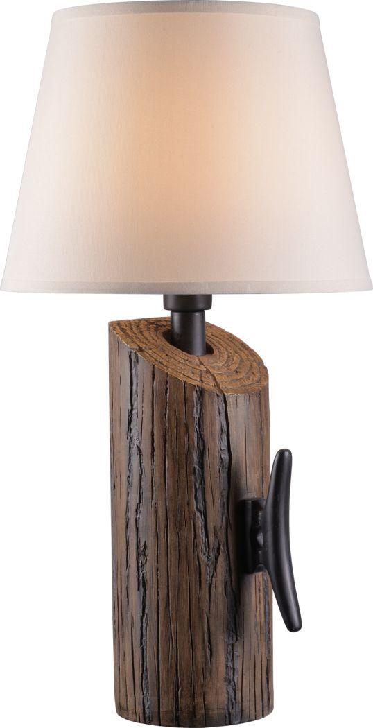 Helena Island Brown Outdoor Table Lamp