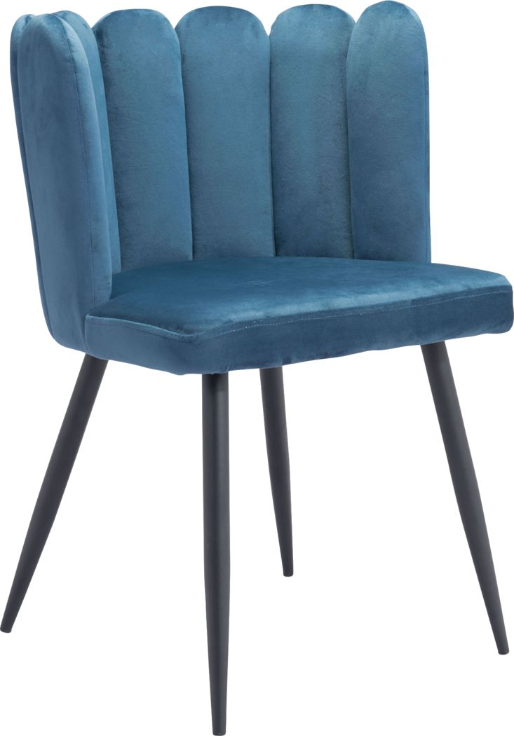 Heloise Blue Side Chair