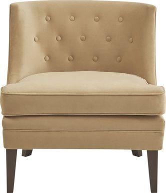 Hemenway Yellow Accent Chair