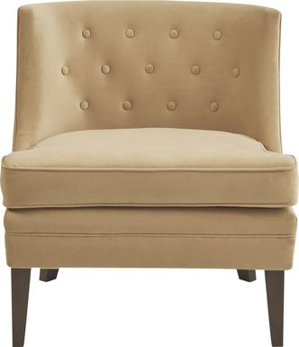 Hemenway Yellow Accent Chair
